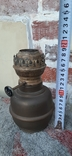 Керосиновая лампа, бронза, фото №3