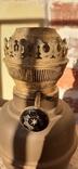 Керосиновая лампа, бронза, фото №9