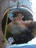 """Старинная картина""""Женщина с ребёнком"""", фото №2"""