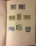 Альбом марок СССР 1962-65 гг. в клеммташах (546 м. + 6 бл.), фото №2