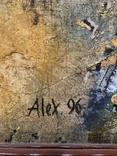 Большая картина Александра Поступного (Alex 96). Оригинал., фото №5