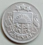 10 сантимов 1922 г. Латвия, фото №2