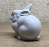 Статуэтка «Зайчик (Кролик)» / Полонное / Фарфор СССР, фото №7