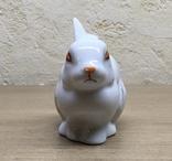 Статуэтка «Зайчик (Кролик)» / Полонное / Фарфор СССР, фото №10