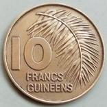 10 франков 1985 г. Гвинея, фото №3