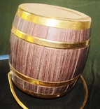 Ведро для шампанского-термос в виде бочки времен СССР, фото №6