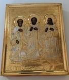 Икона св. Симон, св. Гурий и св. Авив, фото №3