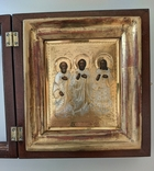 Икона св. Симон, св. Гурий и св. Авив, фото №11