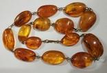 Бусы, ожерелье натуральный янтарь, фото №5