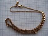 Цепочка.колье Limited Edition PANDORA Shine.серебро 925.позолота., фото №3