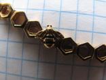 Цепочка.колье Limited Edition PANDORA Shine.серебро 925.позолота., фото №5