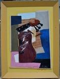 """Картина """"Конструкция с гитарой"""". Смешанная техника. Художник  Колесников Виталий., фото №2"""