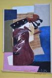 """Картина """"Конструкция с гитарой"""". Смешанная техника. Художник  Колесников Виталий., фото №6"""