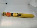 Деревянный карандаш. Солдатик. Длина 200мм, диаметр 23мм, фото №2