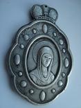 Иконка. Церковный медальйон. Копия, фото №3