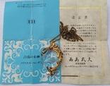 Фирменный кулон с инталией, рубинами и жемчугом., фото №2