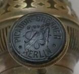 Старая горелка керосиновой лампы Picador-Brenner. Германия., фото №10