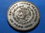Мексика 1 песо 1962, фото №3