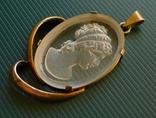 Кулон в серебре с камеей., фото №3