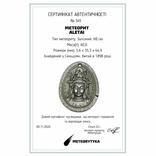 """Кулон """"Гуаньїнь"""" із залізного метеорита Aletai, 40,6 грам, із сертифікатом автентичності, фото №3"""