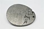 """Кулон """"Гуаньїнь"""" із залізного метеорита Aletai, 40,6 грам, із сертифікатом автентичності, фото №7"""