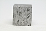 Куб із залізного метеорита Aletai, 60,6 грам, із сертифікатом автентичності, фото №10