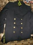 Пальто военно  морского  флота  германии.    подкладка  отстегивается., фото №8