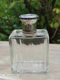 Хрустальный парфюмерный флакон в серебре, фото №9