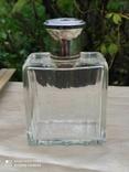 Хрустальный парфюмерный флакон в серебре, фото №10