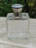 Хрустальный парфюмерный флакон в серебре, фото №2