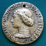 Римская империя.ИТАЛИЯ Медаль Сигизмонда Малатеста, фото №2