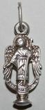 """Серебрянный кулон-подвеска """"Ангел-хранитель"""" (925 проба,Украина) 1,9 грамма, фото №2"""