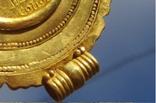 Золотой медальон с изображением августы Галла Плацидия. Копия., фото №10