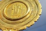 Золотой медальон с изображением августы Галла Плацидия. Копия., фото №11