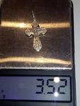 Серебряный крестик, фото №5