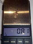 Детский позолоченный серебряный крестик., фото №5