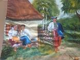 Картина 104 х 56, масло., фото №5