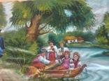 Картина 104 х 56, масло., фото №7