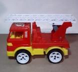 Пожарнвя машина ORION с лестницей длина 16,5 см., фото №5