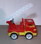 Пожарнвя машина ORION с лестницей длина 16,5 см., фото №7