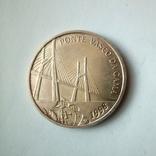 Португалия 500 эскудо 1998 г. - Мост Васко да Гамы, фото №4