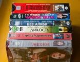 36шт. видеокассеты фильмы разные, фото №3