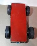 Большая гоночная машина СССР длина 24 см., на реставрацию, фото №4