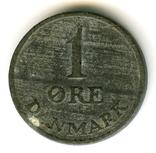 1 эре 1954 Дания, фото №2
