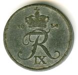 1 эре 1954 Дания, фото №3