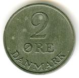 2 эре 1964 Дания, фото №2