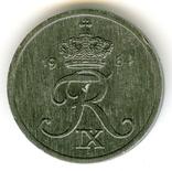 2 эре 1964 Дания, фото №3