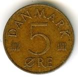 5 эре 1980 Дания, фото №2
