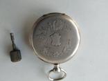 Карманные часы Cylindre серебро, фото №3