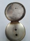 Карманные часы Cylindre серебро, фото №4